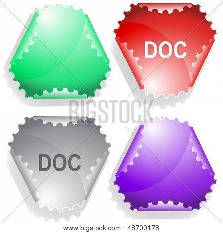 Doc. Raster sticker. Vector version is in my portfolio.