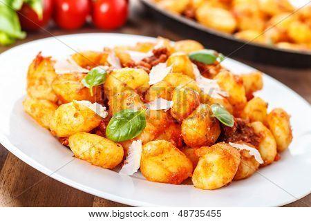 Gnocchi Con Pomodoro