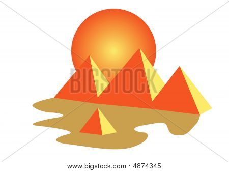 Egypt Pyramids Of Giza