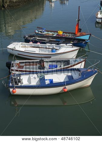 The Boats In Port