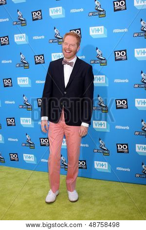 LOS ANGELES - JUL 31:  Jesse Tyler Ferguson arrives at the 2013 Do Something Awards at the Avalon on July 31, 2013 in Los Angeles, CA