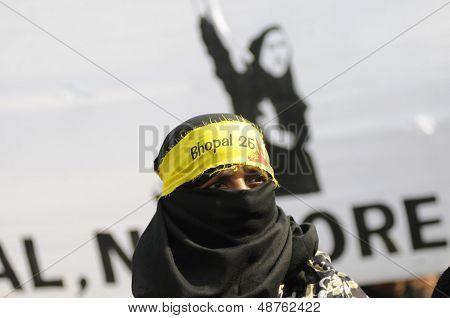 Bhopali Woman