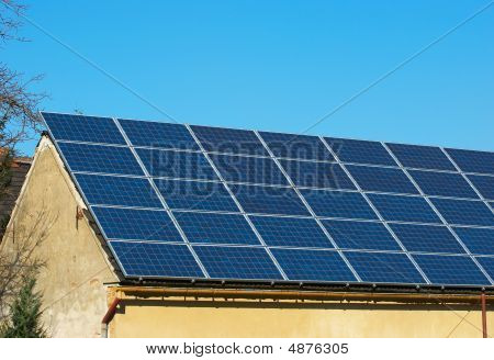 Photovoltaic On Old House
