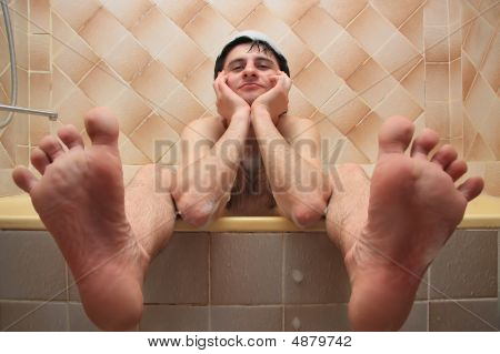 Guy In The Bath