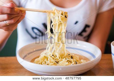 Dipping Cold Noodle Zaru Soba Sauce Japan Food Style