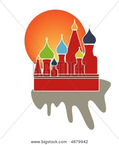 Saint Basil Cathedral Of Moscow