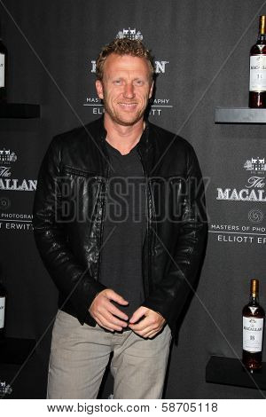 Kevin McKidd at the Macallan Masters of Photography Featuring Elliott Erwitt, Leica Gallery, Los Angeles, CA 10-24-13
