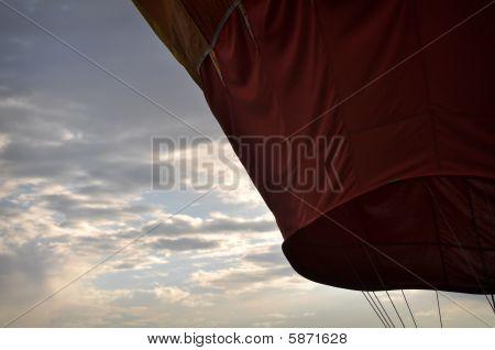 Amazing Hot Air Balloon at Reno Race poster