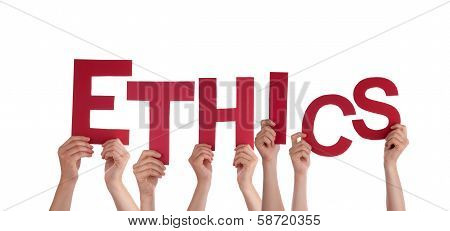 Hands Holding Ethics