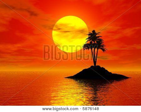 Sunset 3D Photo