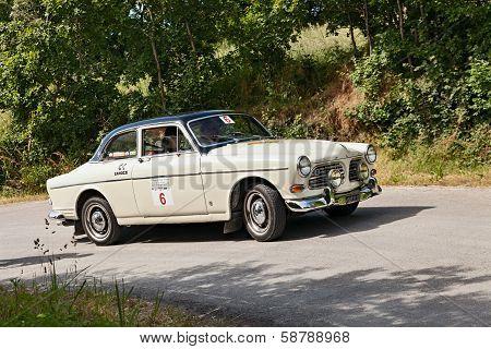 Old Car Volvo Amazon 121