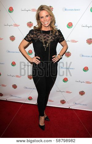 LOS ANGELES - JAN 5:  Cheryl Hines at the BCS National Championship Party at Pasadena Convention Center on January 5, 2014 in Pasadena, CA