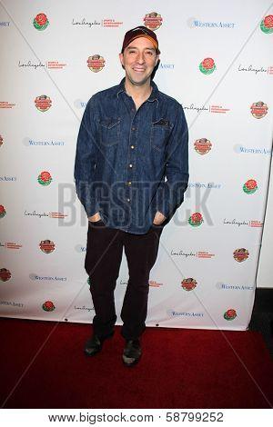 LOS ANGELES - JAN 5:  Tony Hale at the BCS National Championship Party at Pasadena Convention Center on January 5, 2014 in Pasadena, CA