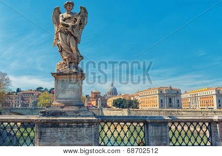 Rome - Saint Angel Bridge