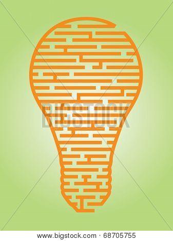Light Bulb Maze