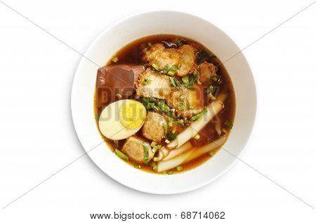 Paste Of Rice Flour With Pork