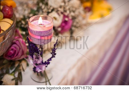 Violet Candle.