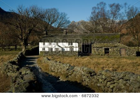 Lake District Cottage and Green Lane