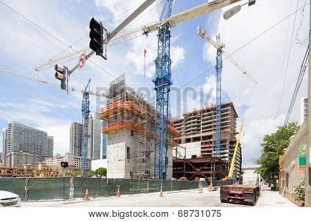 Brickell City Center construction