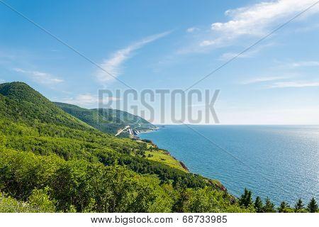 Coastal Scene On The Cabot Trail