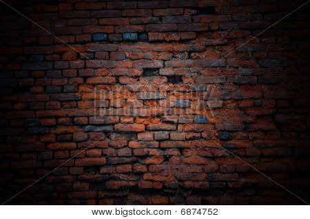 Abstract Brick Wall