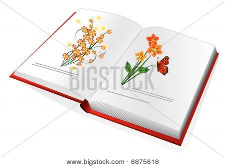 The book with color pictures