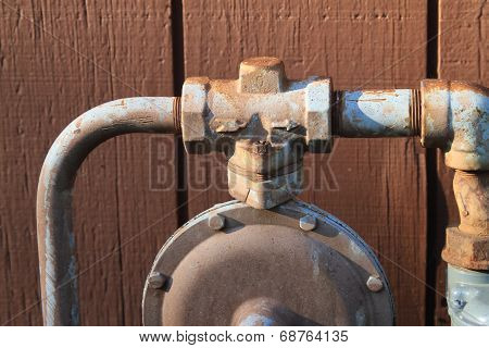 Gas pipe for home