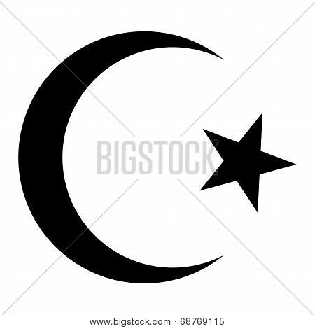 Star And Crescent Icon