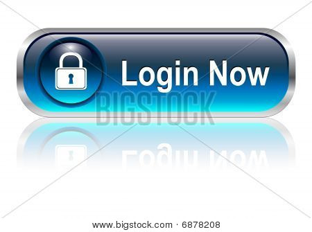 login icon, button