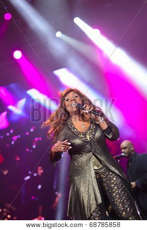 Gloria Gaynor performing at Exit festival
