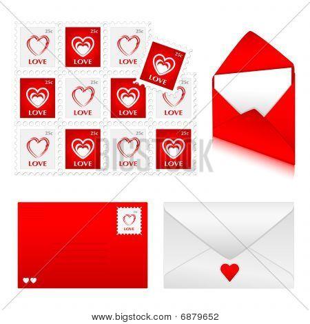 Envelopes  Love