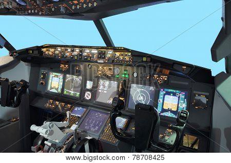 B737 Flight simulator