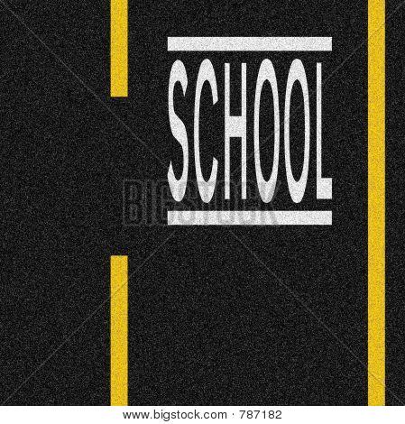 Schule zone