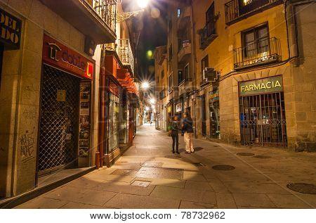 Streets of Segovia Spain
