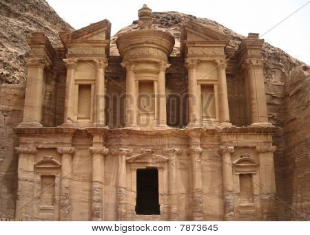 The Monastery at Petra