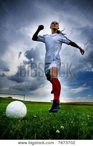 Football Girl