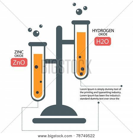 Chemistry Lab infography diagram
