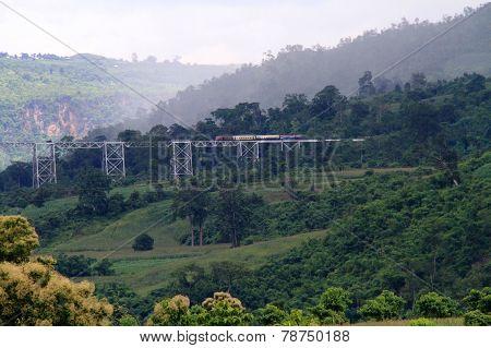Railway in Myanmar