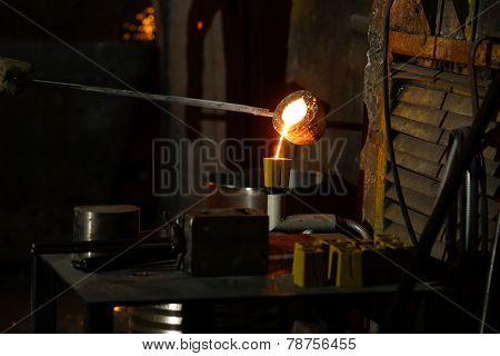 Molten Cast Iron