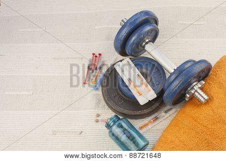 steroids, muscle-building, dangerous sport, sports fraud