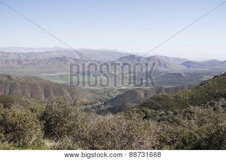Anza Borrego Desert Landscape