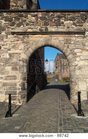 Entrance To Edinburgh Castle