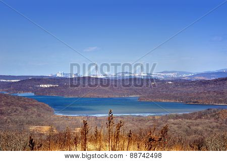 View Of Vladivostok City, Russia