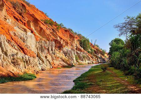 Creek Fairies In Vietnam