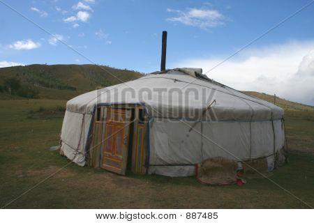 Gerr In Mongolia.