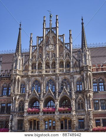 the town hall, Munich, Bavaria Germany