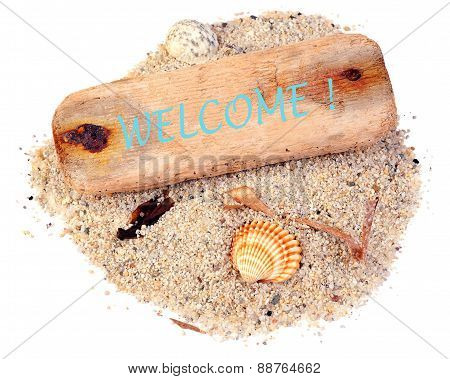Driftwood Welcome