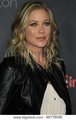 LAS VEGAS - APR 21: Christina Applegate at the Warner Bros. Pictures Exclusive Presentation Highlighting the Summer of 2015 and Beyond at Caesars Pallace on April 21, 2015 in Las Vegas, NV