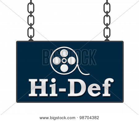 Hi-Def Signboard