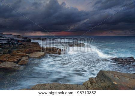 Ocean Stormfront Maroubra